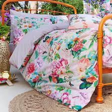 tropical accessorize digital botanical duvet cover set dunelm
