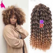short curly crochet hairstyles 8 inch short curly crochet braid hair 90g set freetress ombre