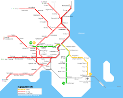Shenzhen Metro Map by Copenhagen Subway Map Travel Map Vacations Travelsfinders Com