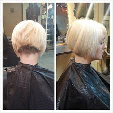 short stacked bob haircut shaved pin by alice on carré nuque rasée pinterest bobs