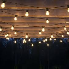 Edison Bulb Patio String Lights by Poles To Hang String Lights Cafe String Lights Diy Outdoor String