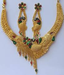 gold plated necklace set images Gold plated necklace set manufacturer manufacturer from howrah jpg