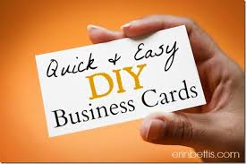 Design Your Own Business Cards Erin Go Hooah Diy Blog Design Series How To Make Business Cards