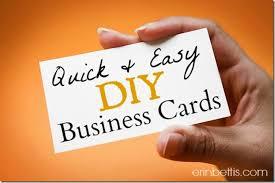 erin go hooah diy blog design series how to make business cards
