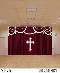 Church Curtains Curtains For Church Sanctuary Drapes Altar