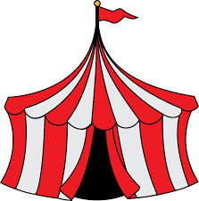 circus clip art black and white coloring page clipart library