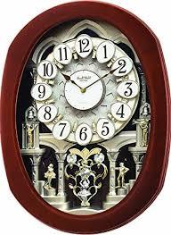Wall Clocks Amazon Com Rhythm Clocks Grand Encore Ii Wall Clocks Home U0026 Kitchen