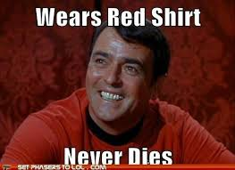 Red Shirt Star Trek Meme - success scotty set phasers to lol sci fi fantasy