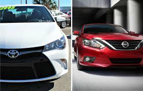 nissan altima 2016 dealer 2016 toyota camry vs nissan altima orlando toyota car comparisons
