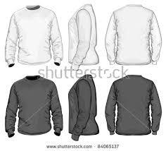 vector mens tshirt design template front stock vector 84065137