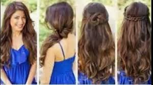 cute quick hairstyles for medium length hair quick easy hairstyles long hair video dailymotion