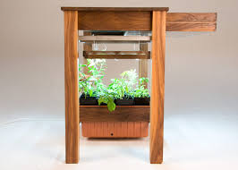 Kitchen Island Prep Table by Grow Prep And Serve At This Hydroponic Kitchen Island Urban