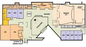 floor plan theater 3rd floor plan dcc