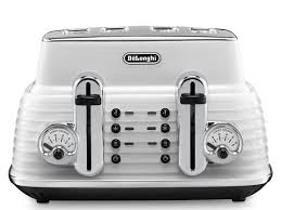 De Longhi Kettle And Toaster Buy Delonghi Ctz4003w Scultura Delonghi Toaster White Free