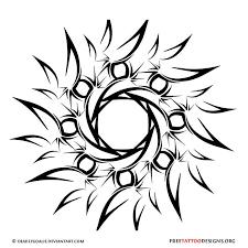 45 amazing tribal sun tattoos ideas and designs