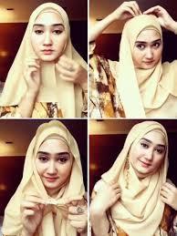 tutorial pashmina dian pelangi hijab segi empat dari dian pelangi