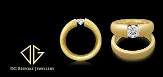 bespoke jewellery custom engagement rings earrings necklaces dg bespoke jewellery