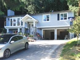 best ideas about split level exterior pinterest split level house being transformed into craftsman style love this could