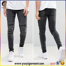 alibaba jeans alibaba manufacturer jean fabric new style black skinny biker jeans