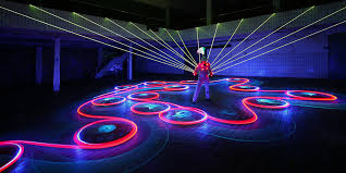 laser light show miami indulge all your senses at blkclok miami exclusive event haute d vie