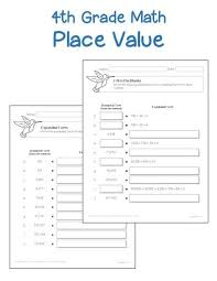 4th grade place value worksheets printables u0026 worksheets