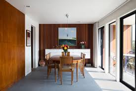 Dining Room Wall Panels Architecture San Francisco Eichler Remodel By Klopf Architecture