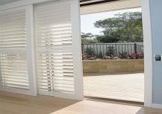 Plantation Shutters On Sliding Patio Doors by Nice Plantation Shutters For Sliding Patio Doors Glass Modernize