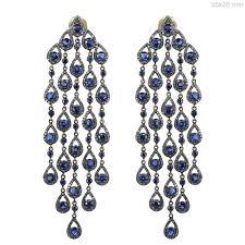 Designer Chandelier Earrings 14k Gold Turquoise Earrings Sterling Silver Designer