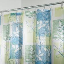 Hawaiian Print Shower Curtains by Amazon Com Interdesign Vivo Botanical Fabric Shower Curtain 72
