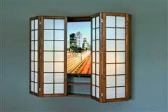 Wall Hung Tv Cabinet With Doors by Wall Hung Tv Frames And Cabinets For Small Spaces