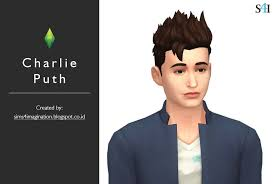 charlie puth imagination my sims 4 cas charlie puth imagination sims 4 cas