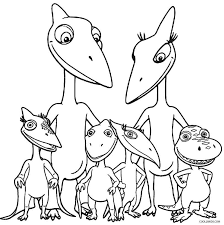 printable dinosaur coloring pages kids cool2bkids