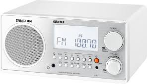 amazon com sangean wr 2 fm rbds amwooden cabinet digital tuning