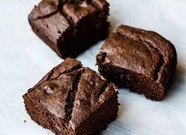 brown cake cacao banana buckwheat snack cake gluten free nummy