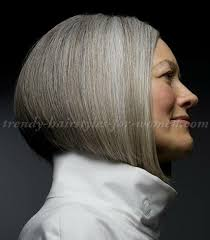 short hairstyles over 50 classic bob haircut for grey hair