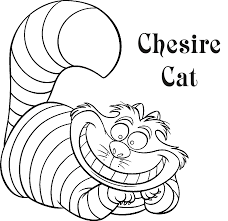 cheshire cat coloring pages picture coloring page 5301