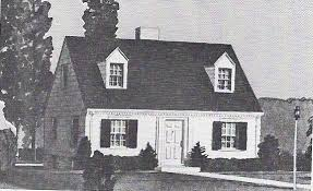 cape cod cottage house plans yes virginia sears homes were built after 1940 1940s cape cod