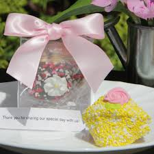 cookie box favors wedding fortune cookie in clear favor gift box