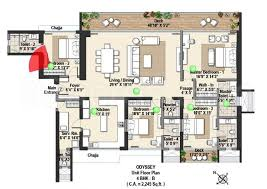 odyssey floor plan raheja universal builders raheja reflections odyssey floor plan