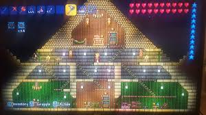 built my own pyramid after i found the pharaoh terraria