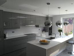 remo silver grey gloss kitchen london kitchen ergonomics