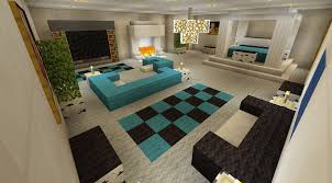 Minecraft Interior Design Kitchen Minecraft Interior I Really Like The Raised Area With The