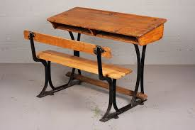 antique wooden bench seat antique oak school desk and bench industrious interiors