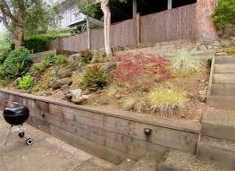 Sloping Backyard Ideas Sloping Backyard Landscape Ideas Sloped Backyard Landscaping