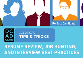 tips u0026 tricks resume review job hunting and interview best