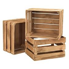 rustic crates wooden display crates