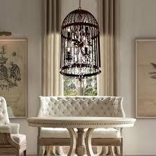 Chandelier Over Table Lighting Ideas Modern Artistic Dining Room Crystal Chandelier