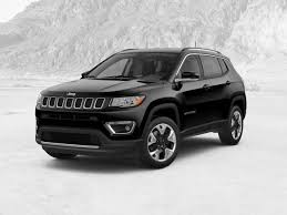 2018 jeep compass limited 4x4 diamond black crystal pearl coat