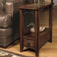 null furniture chairside table null furniture 5013 chairside end table with inset stone top
