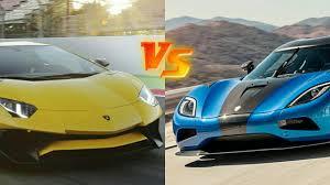 koenigsegg vs lamborghini aventador lamborghini aventador sv vs koenigsegg one 1 comparison review